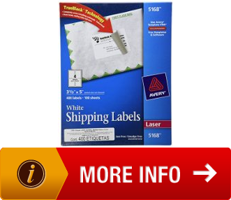 avery 5168 label template - avery shipping labels for laser printers with trueblock